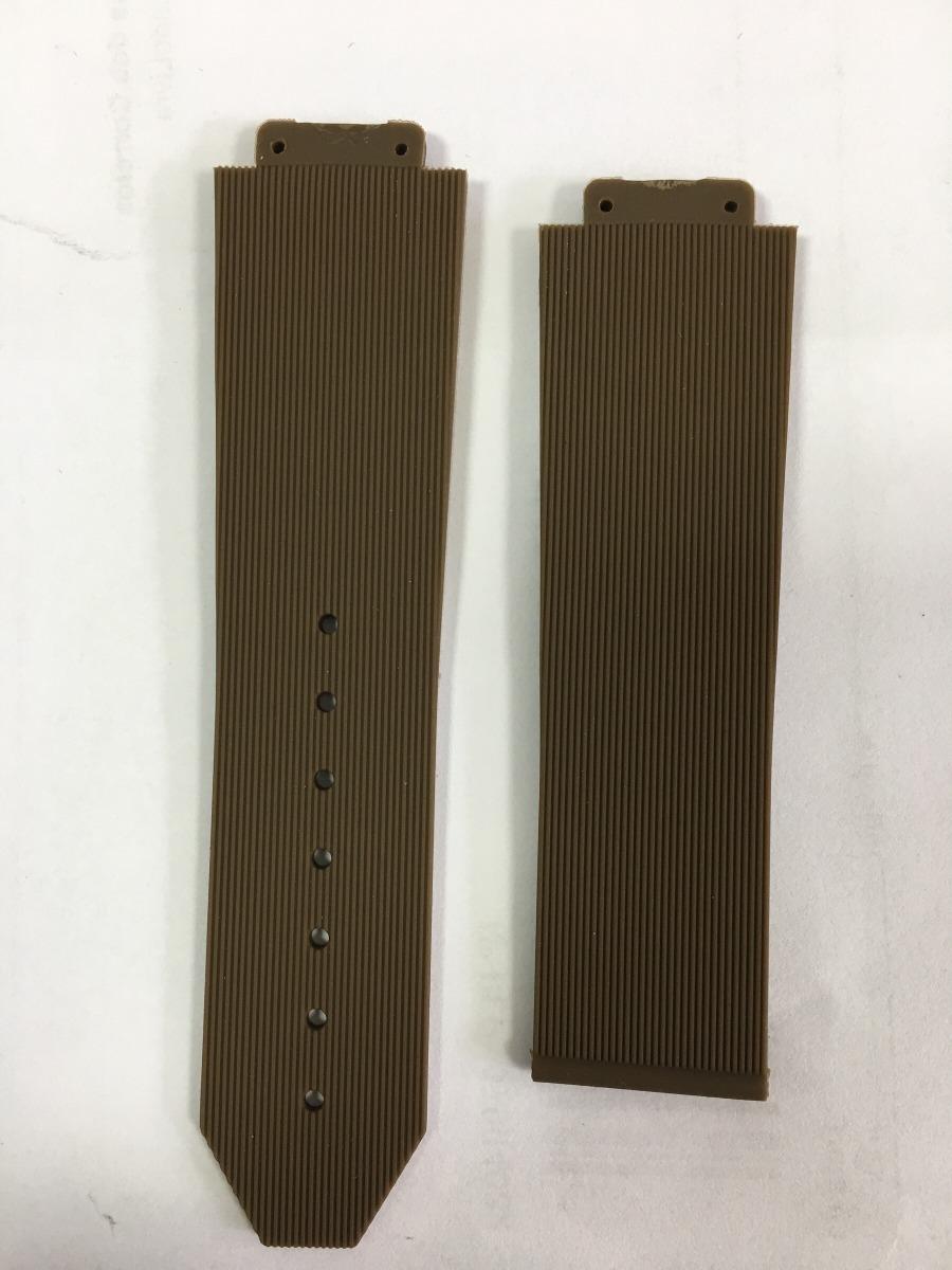 e0cb75c87a7 pulseira para relógio hublot feminino marrom + chave h. Carregando zoom.