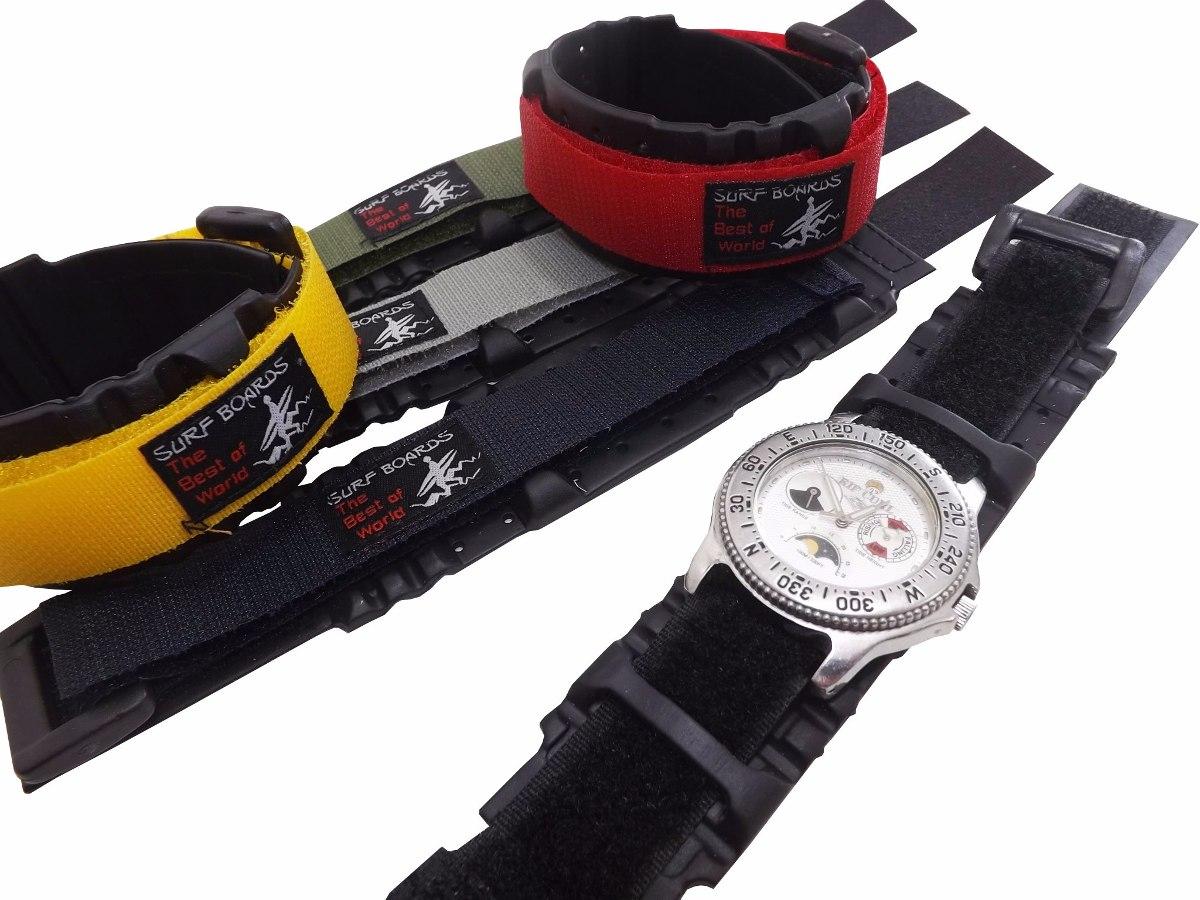 86c55bff065 Pulseira Para Relógios Várias Cores Surf C  Borracha