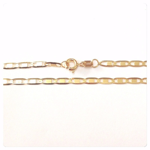 pulseira piastrine 18cm x 2mm em ouro 18k-750- frete grátis