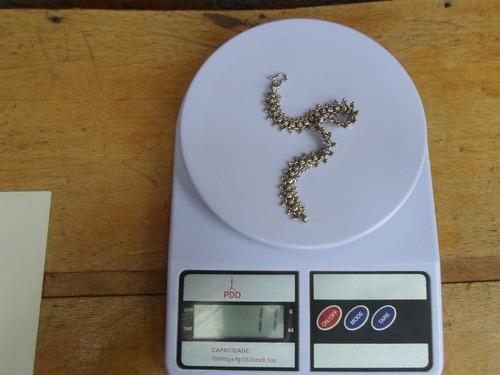 pulseira prata  bali 925  17 gramas frete gratis 35