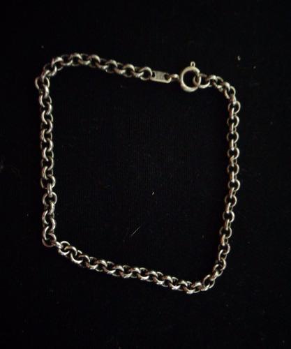 pulseira prata de lei 4,7 gramas n°24