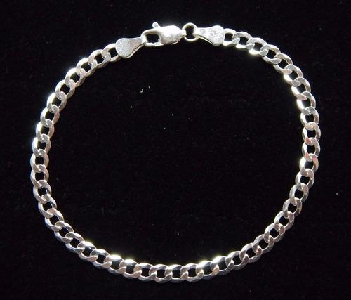 pulseira prata masculina