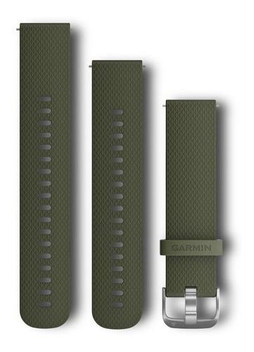pulseira quickfit garmin verde forerunner 645 vivoactive 3