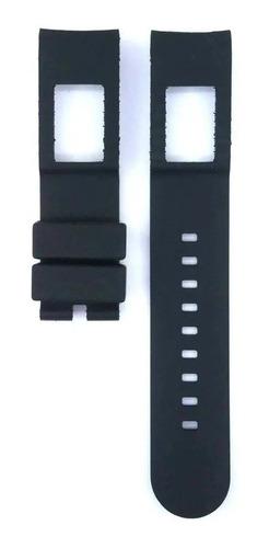 pulseira relógio armani ar 0690 preta
