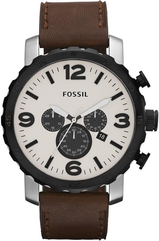 b88f4ac8b1a10 pulseira relógio fossil jr1390 jr 1390 couro 1354 jr1354. Carregando zoom.