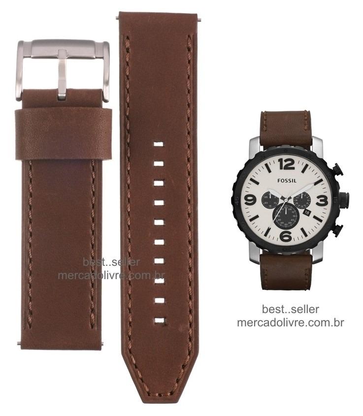 a0e6468e59f pulseira relógio fossil jr1390 jr 1390 couro 1354 jr1354. Carregando zoom.