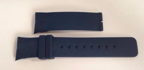 pulseira relógio nautica 28mm azul n13530g n14665g a34001