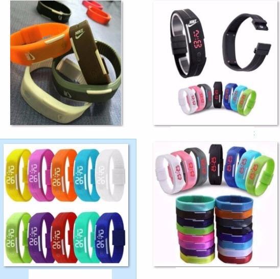 09e03133f4c Pulseira Relógio Nike - Promoção - R  19