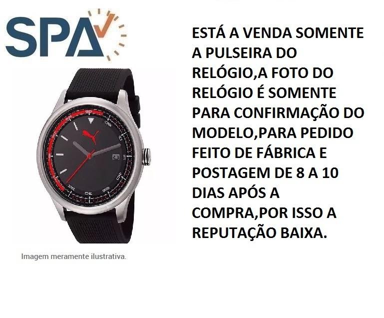 067448e8e89 Pulseira Relógio Puma 96176g0pmnu2 100% Original - R  169