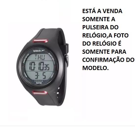 5c2254b7d6e Pulseira Relógio Speedo 80580g0eenp1 100%original - R  79
