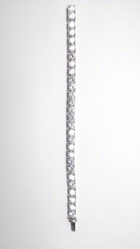 pulseira riviera em prata 925 com banho de ouro branco