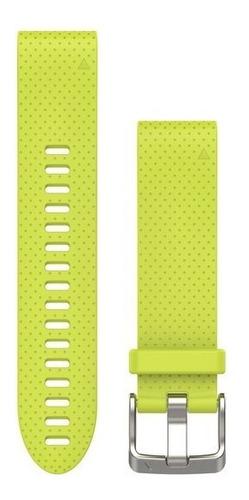 pulseira silicone garmin fenix 5s quickfit 20 cx lacrada