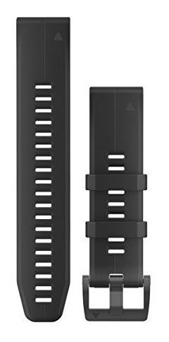 pulseira silicone garmin quickfit fenix 5x fenix 3 preto