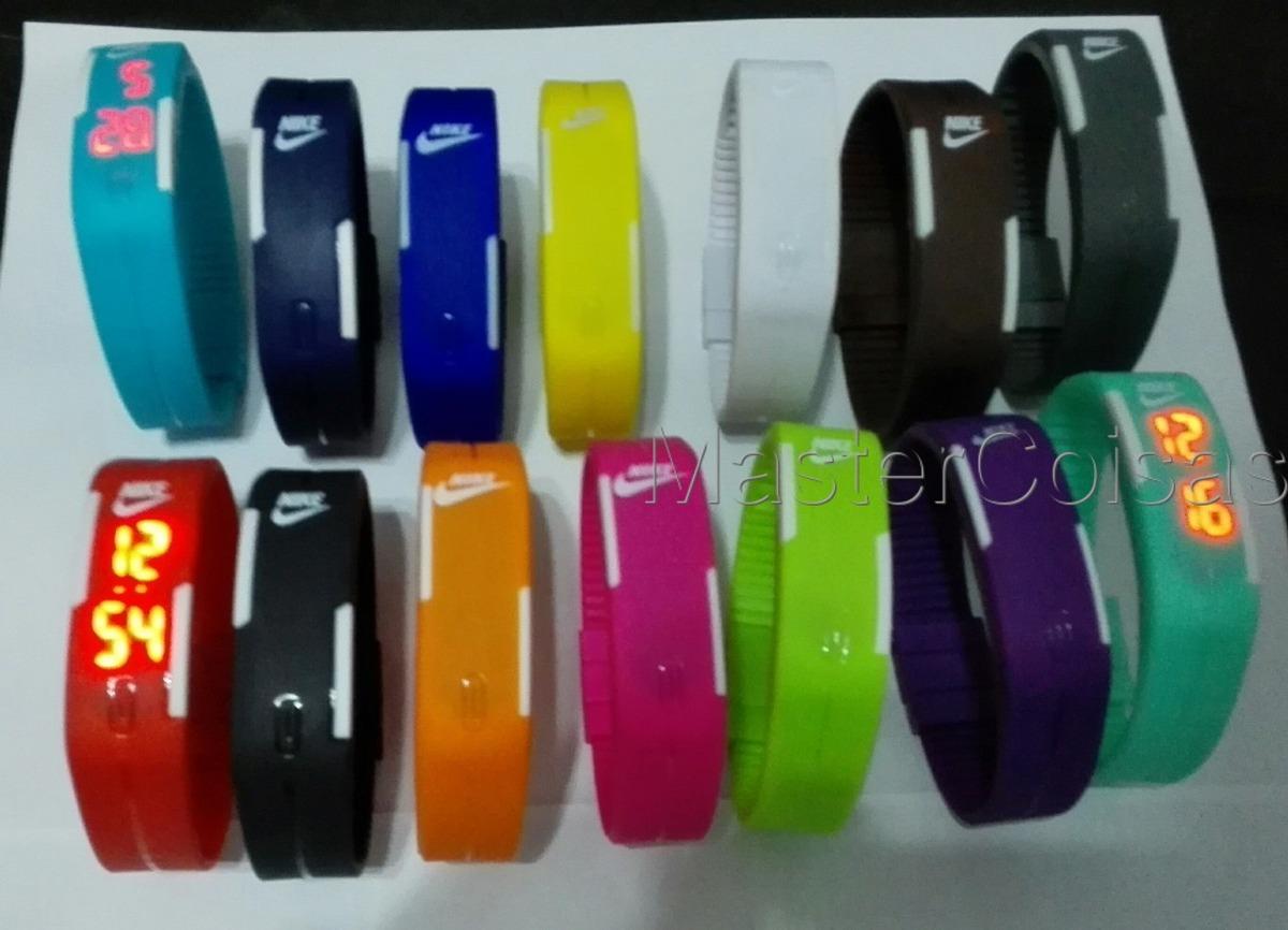 10efe5ad086 pulseira silicone relógio led digital sport bracelete. Carregando zoom.