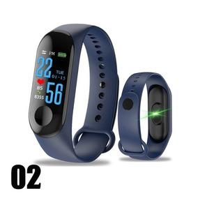 Pulseira Smart Band Relógio M3 Fitness Pressão