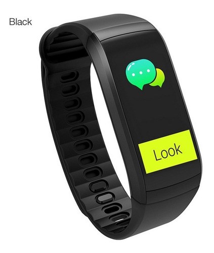 pulseira smart kr02 ip68 ? prova d'?gua gps preto