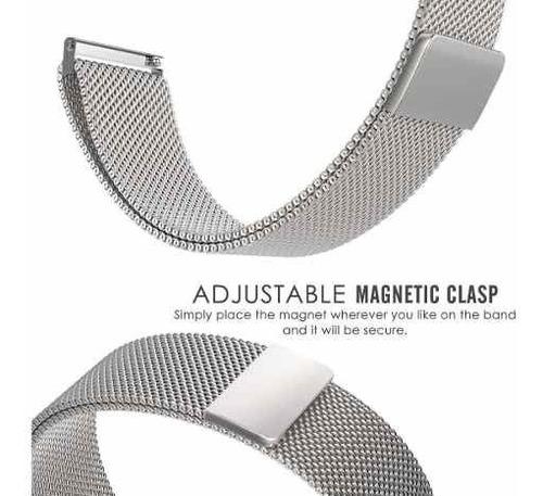 pulseira smartwatch hero b57 magnetica milanese