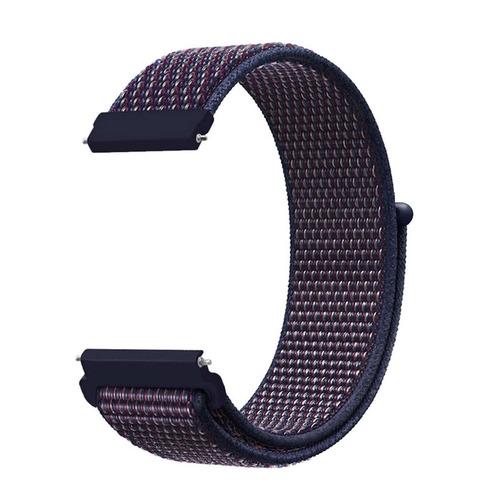 pulseira smartwatch xiaomi amazfit pace stratos 22mm nylon