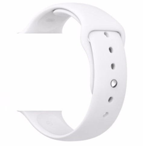pulseira sport apple watch 38mm 42mm branca rosa preta azul