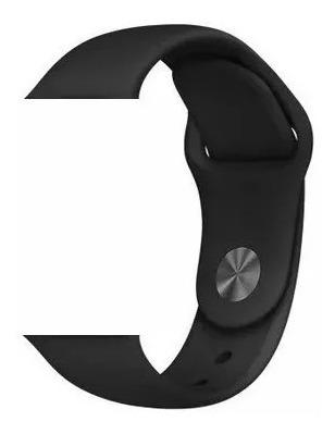 pulseira sport para apple watch 38mm 40mm preto promoção