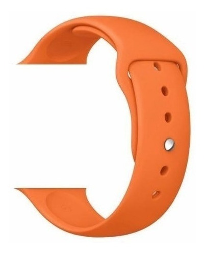 pulseira sport para relogio watch 38mm 40mm 42mm 44mm preta
