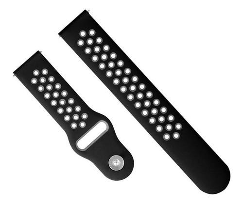 pulseira sport para samsung galaxy watch 42mm r810 sm-r810