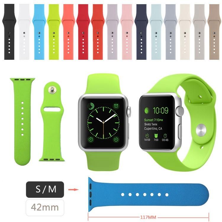 a6ffb51a067 Pulseira Sport Silicone Para Apple Watch 3 2 1 42mm E 4 44mm - R  58 ...