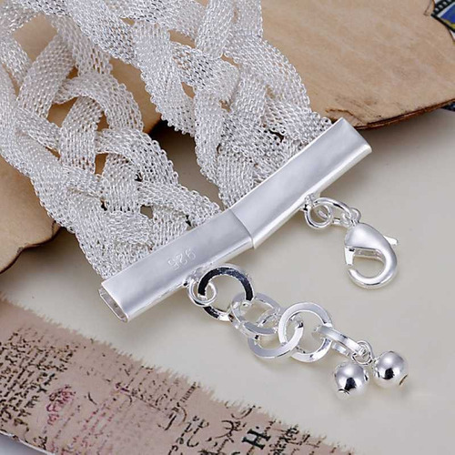 pulseira super linda prata 925
