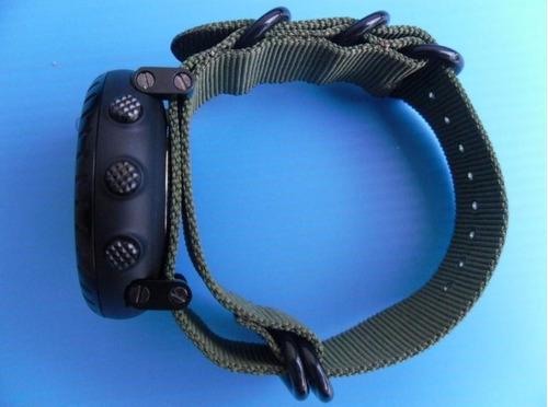 pulseira suunto core preta premium + adaptadores fr. grátis