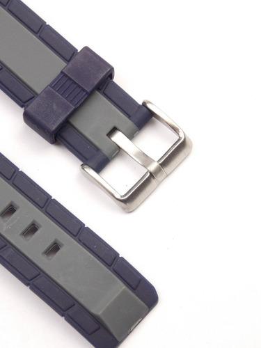 pulseira technos mormaii ad900 azul escuro original