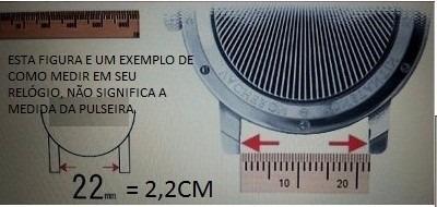 pulseira tendemce 24mm - mod 3