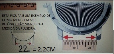 pulseira tendence 20mm - cor roxa