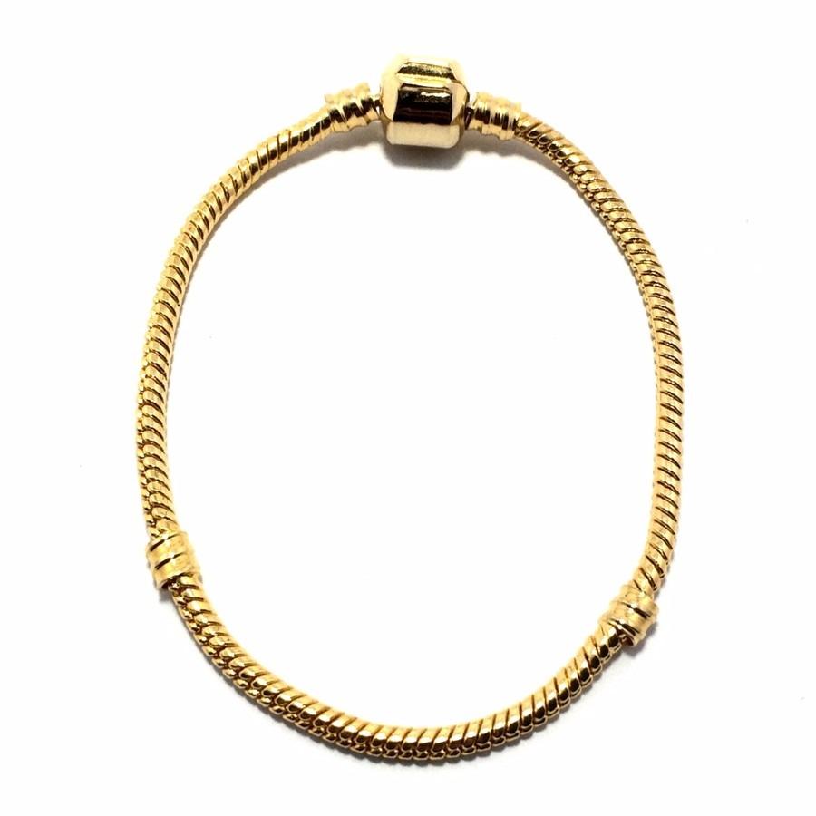 30f60a07e73 pulseira tipo pandora vivara life berloques banhada a ouro. Carregando zoom.