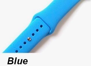 pulseira tipo sport apple watch 38mm 40mm 42mm 44mm
