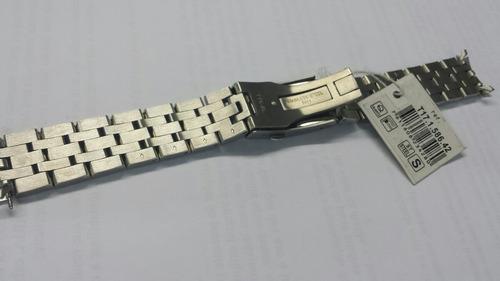 pulseira tissot prc200 aço completa