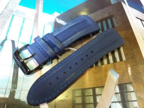 pulseira tommy hilfiger original azul mod. 1315 - 25mm