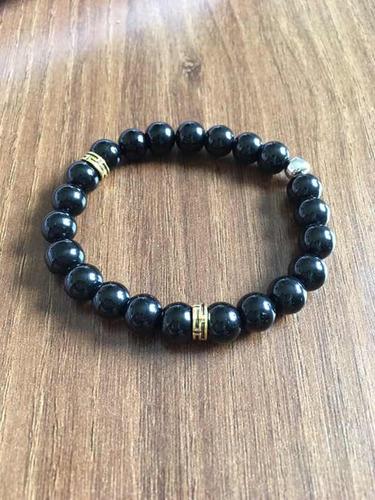 pulseira turmalina negra pedras naturais