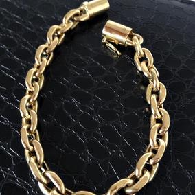 80e1d3b9f3f Poderosa Pulseira Modelo Cartier Ouro 18k 750 Com 28 Gramas - Joias ...