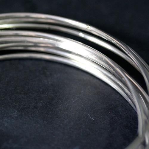 pulseiras de aço 10 mandamentos 6,5cm