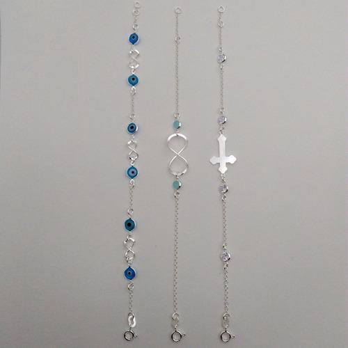 pulseiras femininas prata