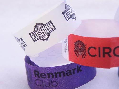 pulseiras p/ festas e eventos -  kit 500  personalizadas 24h