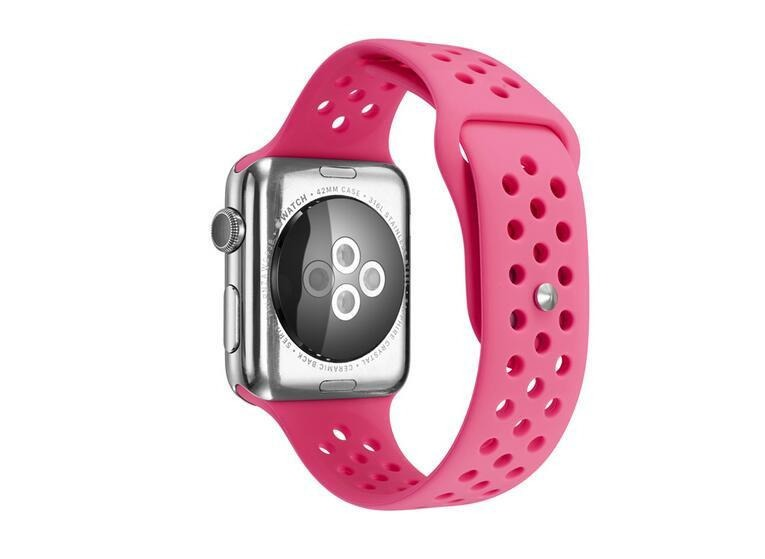 81bcd6371e7 Pulseiras Para Apple Watch 38 40 42 44 Furadas Atacado 10 Pc - R ...