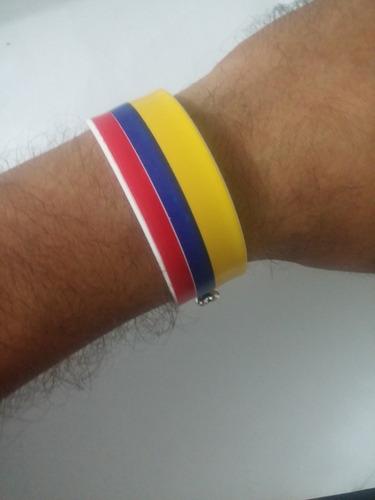 pulsera 2 en 1 colores seleccion colombia
