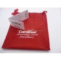 pulsera acero cardinal hueca tejida combinada para regalo