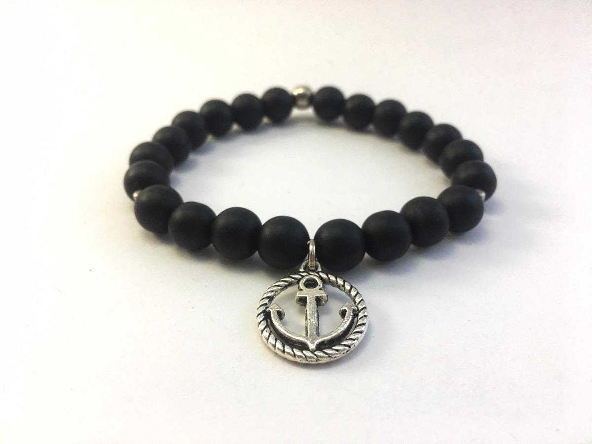 2ab3a3e7b609 pulsera anchor black - mr. thompson accesorios para hombres. Cargando zoom.