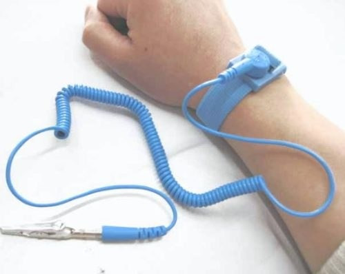 pulsera antiestática extendible lagarto pc estatica computer