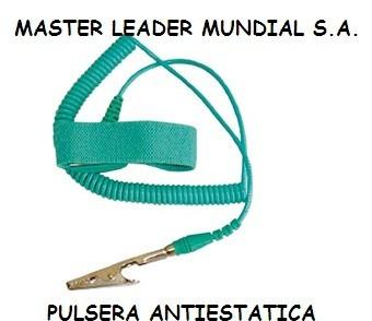 d5b4296a4b7f Pulsera Antiestatica Para Electronica Pc