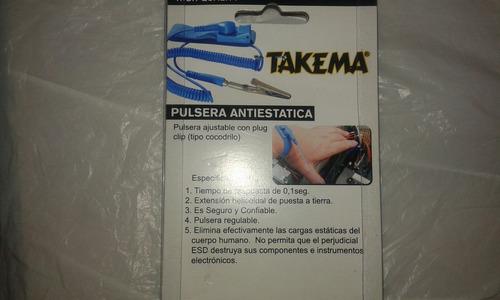 pulsera antiestatica para reparacion de pc,laptop,