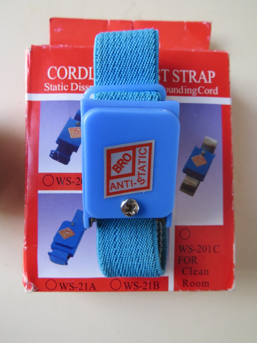 pulsera antiestàtica - electricidad- protectora .exclusivo