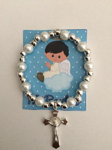 pulsera bautizo niño